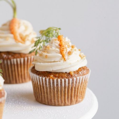 Small Batch Carrot Cupcakes