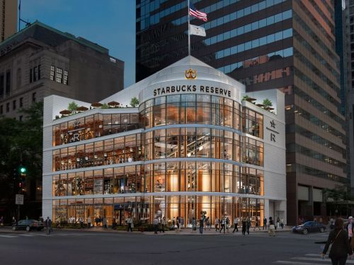 The World's Largest Starbucks Is Nigh Upon Us