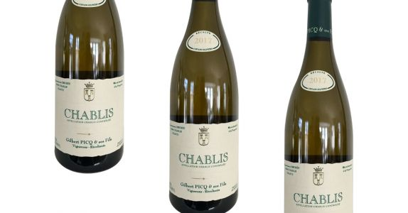 Gilbert Picq Chablis 2017, Burgundy, France