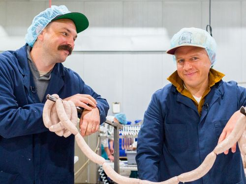Watch: Making Craft Sausage and Charcuterie on an Industrial Scale