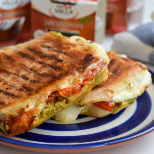 Caprese Cheese Toasties