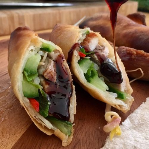 Springrolls with Duck