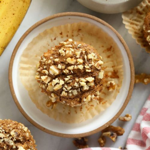 One-Bowl Banana Nut Muffins