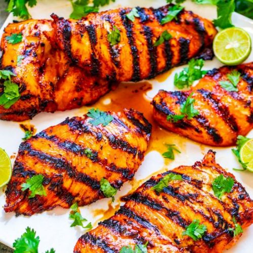 Grilled Sriracha Lime Chicken
