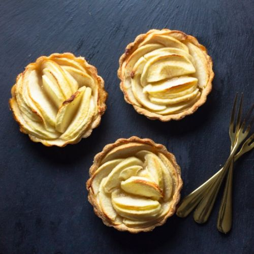 Honeycrisp Apple Tartlets
