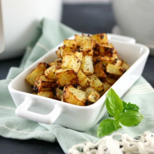 Garlic & Parmesan Roasted Potatoes