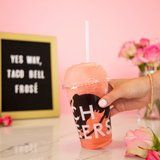 Taco Bell Is Serving This Strawberry Frosé All Summer Long, and It Sounds SO Refreshing!