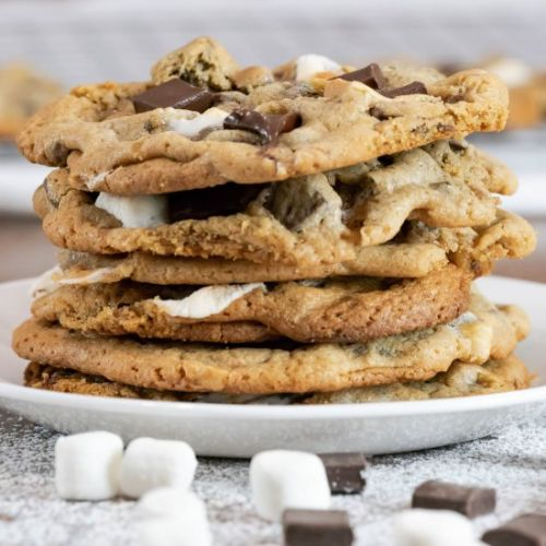 Chocolate Chunk Marshmallow Cookies