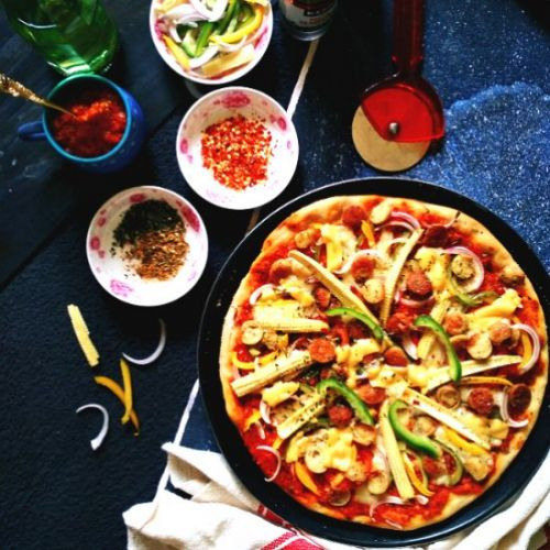 How to make whole wheat pizza