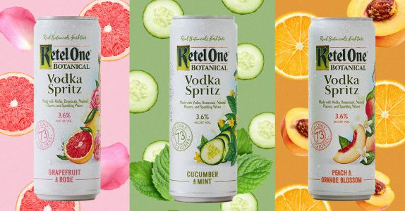 Ketel One Botanical Just Dropped Ready-to-Drink 'Vodka Spritz'