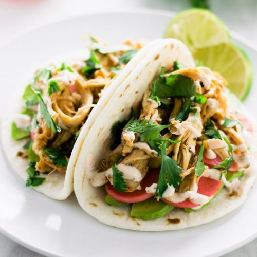 Go-To Chipotle Chicken Tacos