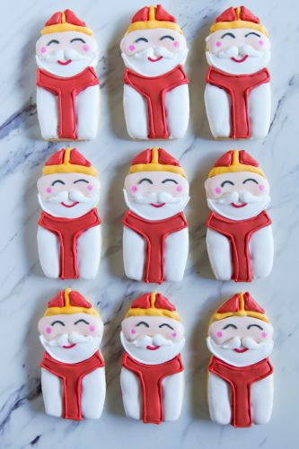 St. Nicholas' Day Decorated Cookies