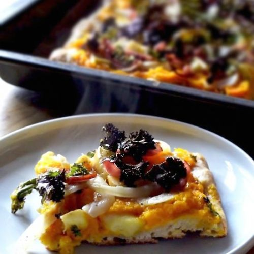 PUMPKIN PIZZA - BREAKFAST PIZZA