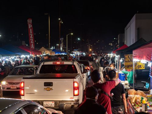TikTok Is Fueling This Immense LA Night Market