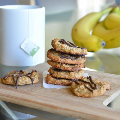 Paleo banana coconut cookies
