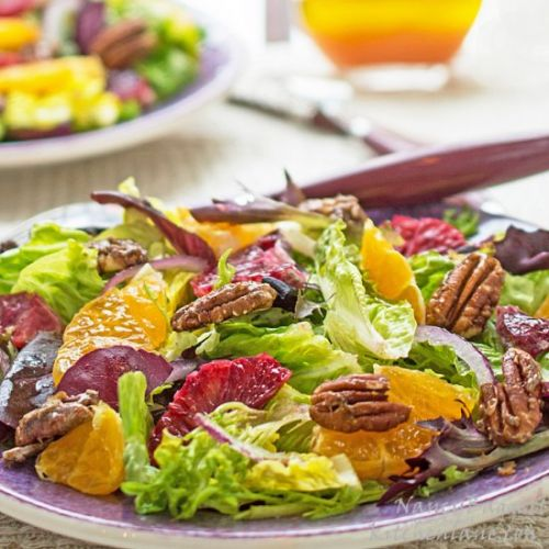 Winter Citrus Salad & Vinaigrette