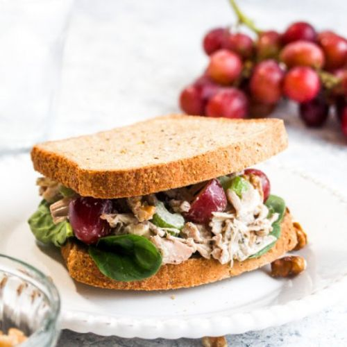 Jackfruit Chicken Salad Sandwich