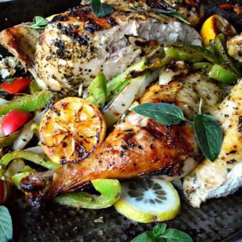 Grilled Lemon Oregano Chicken