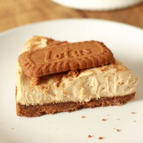 Vegan Biscoff Cheesecake