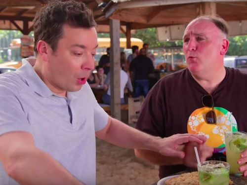 Watch José Andrés and Jimmy Fallon Have a Heartfelt Discussion About Puerto Rico