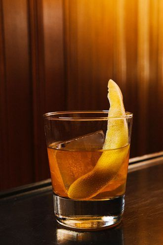 Navy Strength Old Fashioned