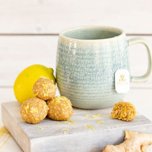 Lemon Ginger Energy Balls Recipe
