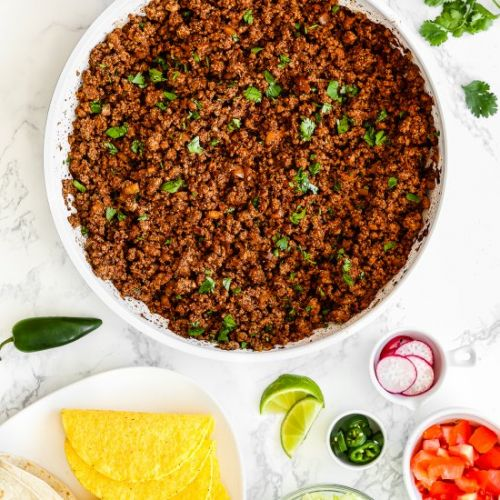 Easy Ground Beef for Tacos