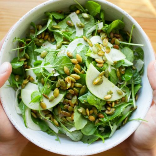 Fennel, Apple & Pumpkin Seed Salad