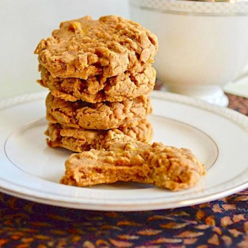Sweet Potato Tahini Cookies