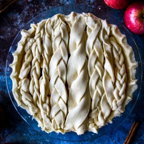 Cardamon Apple Pie + Vodka Crust
