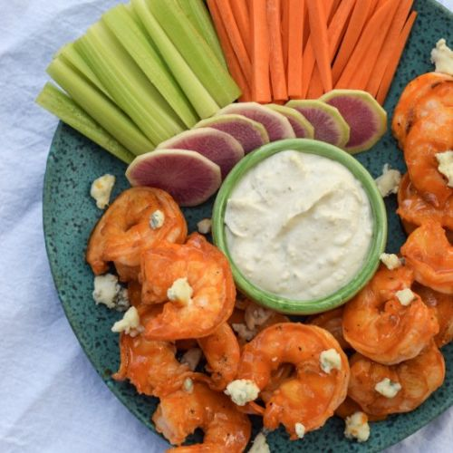 Low Carb Buffalo Shrimp