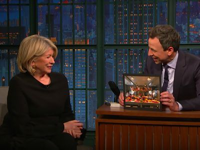 Martha Stewart Had a Four-Ham Holiday Party