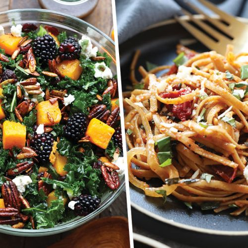 44 of Our Favorite Healthy Vegetarian Recipes!