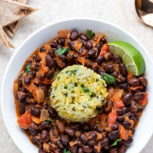 Vegan Black Bean Curry