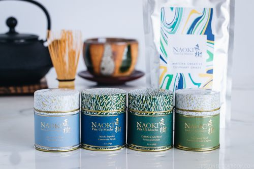 Unique Matcha Blends Giveaway from Naoki Matcha