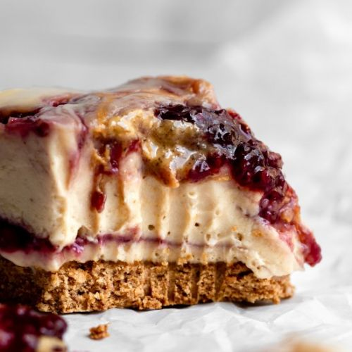 Vegan Cheesecake Bars