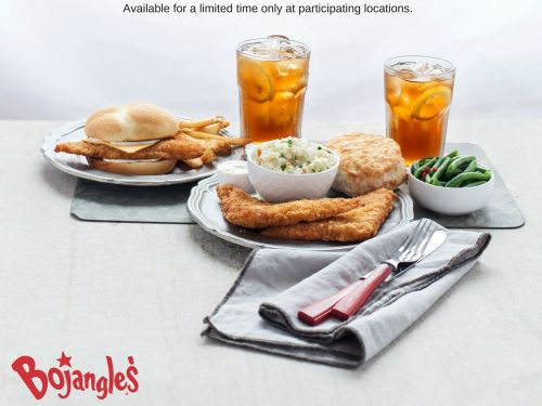 Set Sail to Bojangles' for the One-of-a-Kind BojAngler Fish Sandwich & Platter
