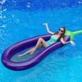 I Can't Help but Crack Inappropriate Jokes About This Eggplant Pool Float From Amazon