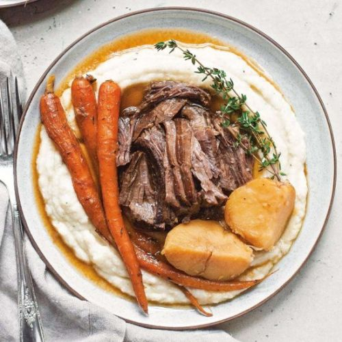 Instant Pot Balsamic Pot Roast