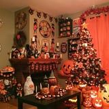 Halloween Christmas Trees Are a Thing Now, and They're Really Cool and Creepy
