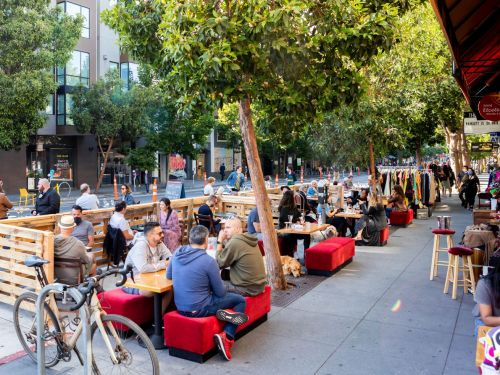 The Relative Safety of Outdoor Dining