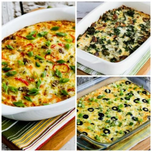 Basic Instructions and Recipes for Low-Carb Breakfast Casseroles