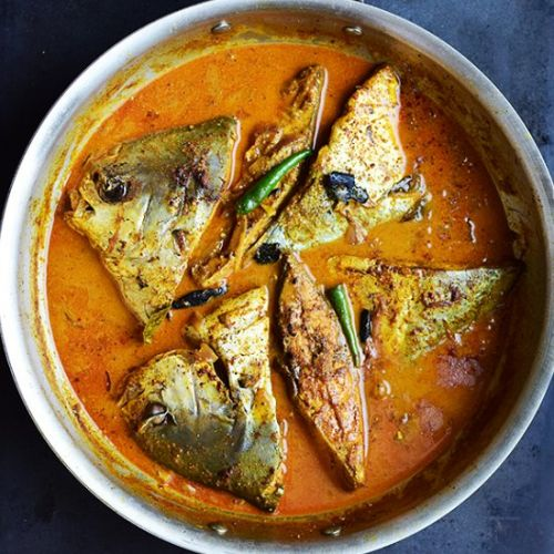 Sour Fish Curry with Coconut Milk