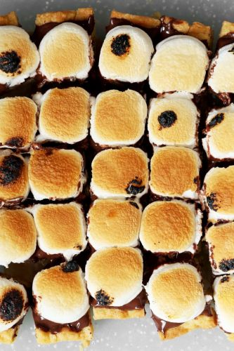 Toasted S'mores Squares