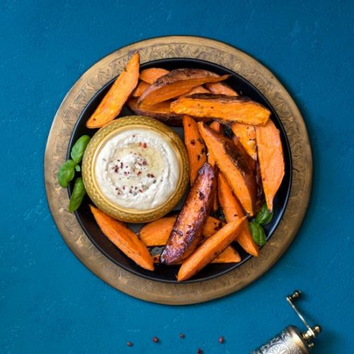 Sweet potato baked fries
