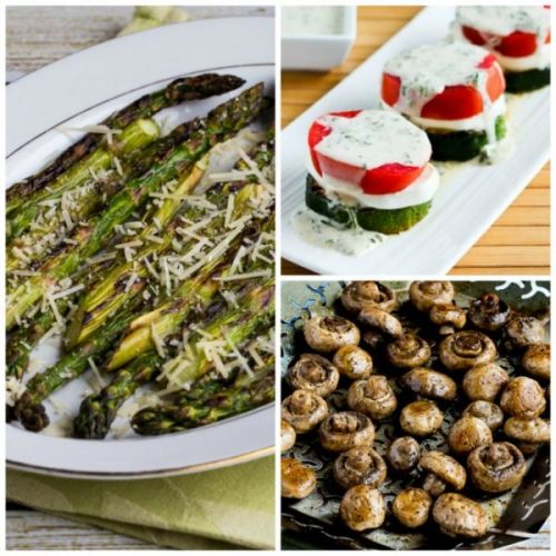 Kalyn's BEST Low-Carb and Keto Recipes for Vegetables on the Grill