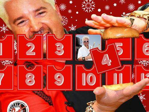 The 12 Days of Guy Fieri: All the Celebrities Flock to Flavortown