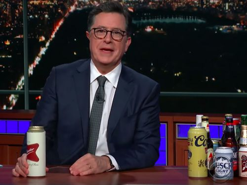 Watch Stephen Colbert Explain the Government Shutdown With Beer