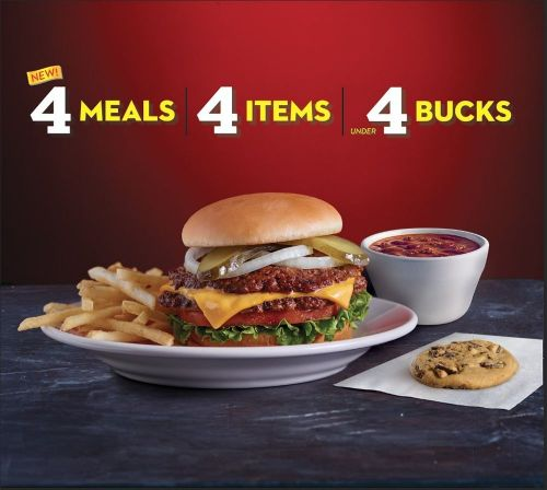 Steak 'n Shake Introduces New 444 Menu