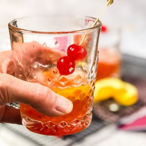 Peanut Butter Whiskey Old Fashioned